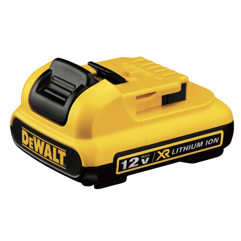 DEWALT DCB127 12V MAX Lithium Ion Battery-Pack,Yellow/Black,medium