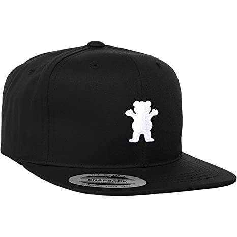 0bd3c0c0 Image Unavailable. Image not available for. Color: Grizzly Grip Tape OG  Bear Black Youth Hat ...