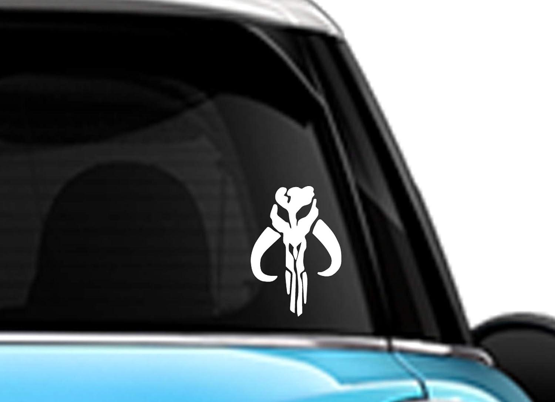 STAR WARS BOBA FETT Vinyl Decal Car Window Wall Sticker CHOOSE SIZE COLOR