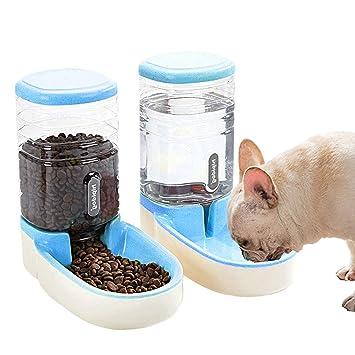 Amazon.com: SLA-SHOP Pets Cats Dogs - Comedero automático de ...