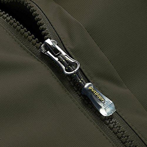 Lega Men s Waterproof Windproof Insulated Ski Jacket Mountain Hooded Fleece  Jackets Rain Snow Outdoor Coat 005b2ecf0