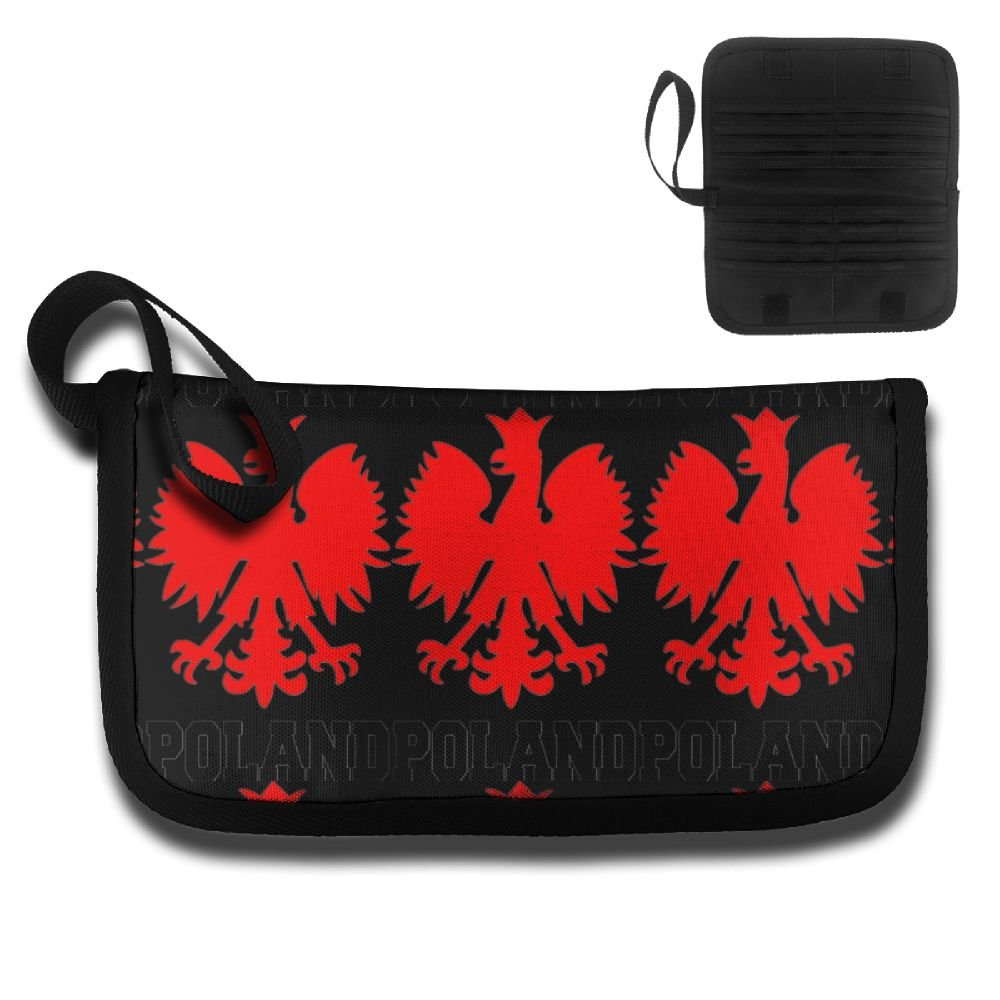 Flag Of Poland Polish Eagle Design Multifunctional Anti-theft Certificate PackagesPortable Pouch For Unisex