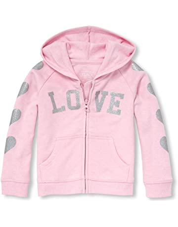 0164bfff3 The Children's Place Baby Girls Novelty Iridescent Graphic Hoodie