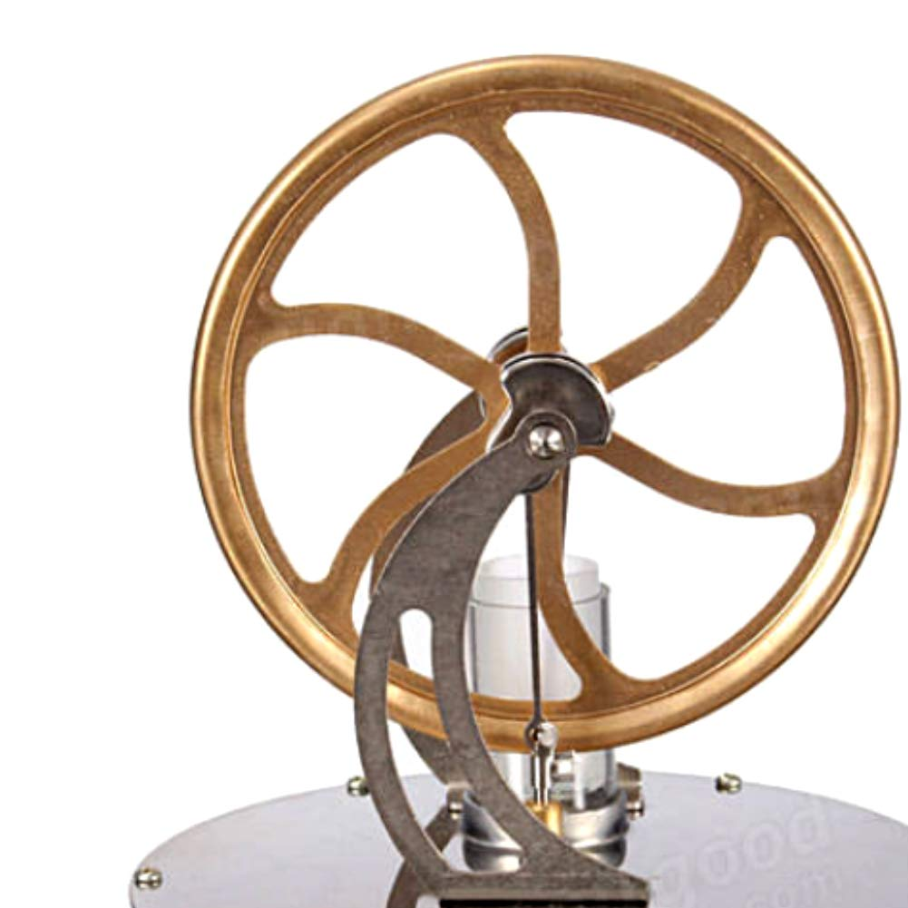 At27clekca Low Temperature Stirling Engine Model Steam Machine Science Educational Toy Electricity Generator by At27clekca (Image #4)