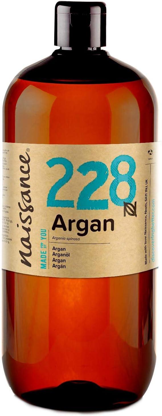 Argan Oil - 100% Pure - 1 Litre by Naissance