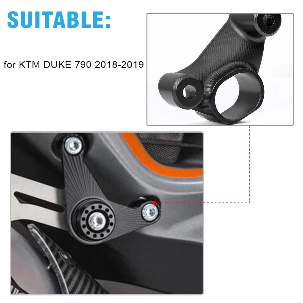 Black LJBusRoll Motorcycle DUKE 790 18 19 New Pipe Exhaust Hanger Mount Bracket for KTM 790 Duke 2018 2019 Accessories