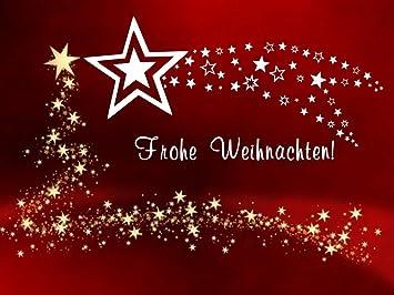 Frohe Weihnachten In Bildern.Fensterdekoration Aufkleber Sternschnuppe Frohe Weihnachten über