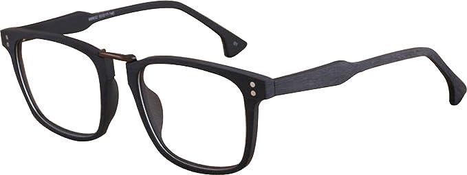 J&L GLASSES Retro Gafas Para Hombres Mujeres Lente transparente Gafas,Gafas de Sol Unisex Adulto,Estilo 9PihSq1N
