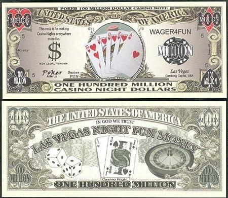 Poker/Royal Flush Casino noche dinero 100 millones de dólar ...