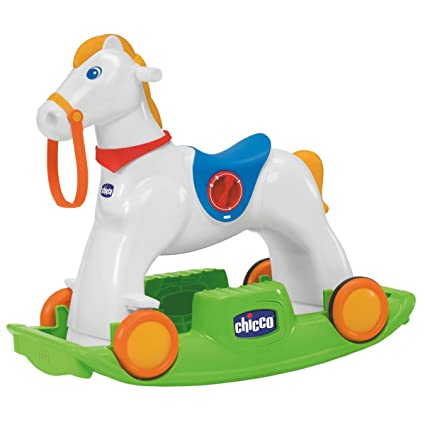 Cavallo Dondolo Chicco Prezzi.Chicco 70603 Chicco Rodeo Gioco Cavalcabile 3 In 1 Multicolore