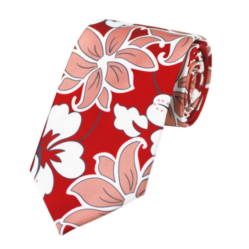 CDBGPZLD Corbatas De Boda Para Hombres Corbatas Florales Rojas ...