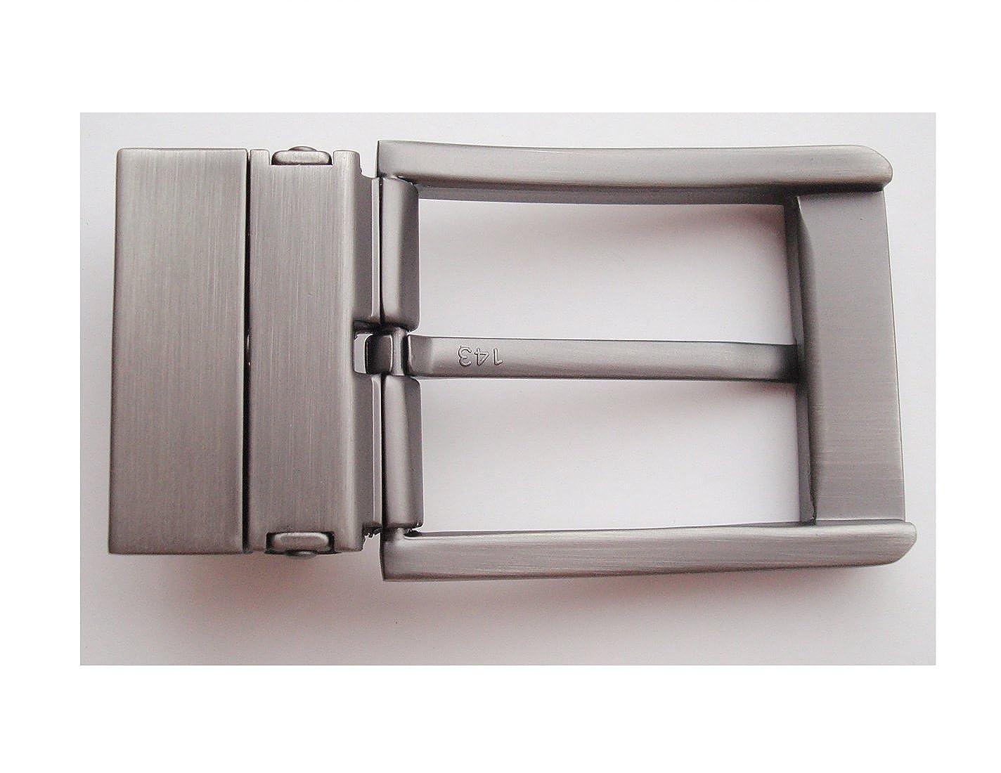 uomini 1-3//8 35 zinco solido la fibbia della cintura di cuoio fibbia a capo automatico ratchet