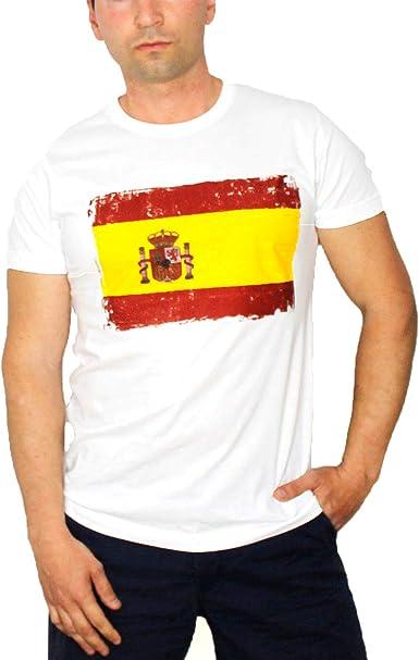 TEMADIGITAL Camiseta Bandera de España Tipos - Camisetas españolas ...