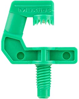 """1 Black Plastic Tee Assembly w// 3//8/"""" Push in-3GPH Nozzle W//Poly Filter"""