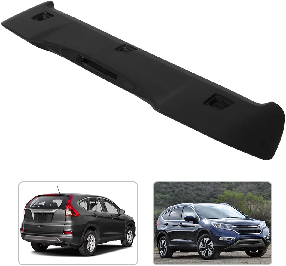 Rear Wing Factory Style Matte Black Rear Roof ABS Spoiler Wing Fit for Honda CRV CR-V 12-16