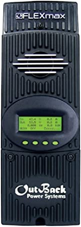 front facing outback flexmax 80 solar charge controller