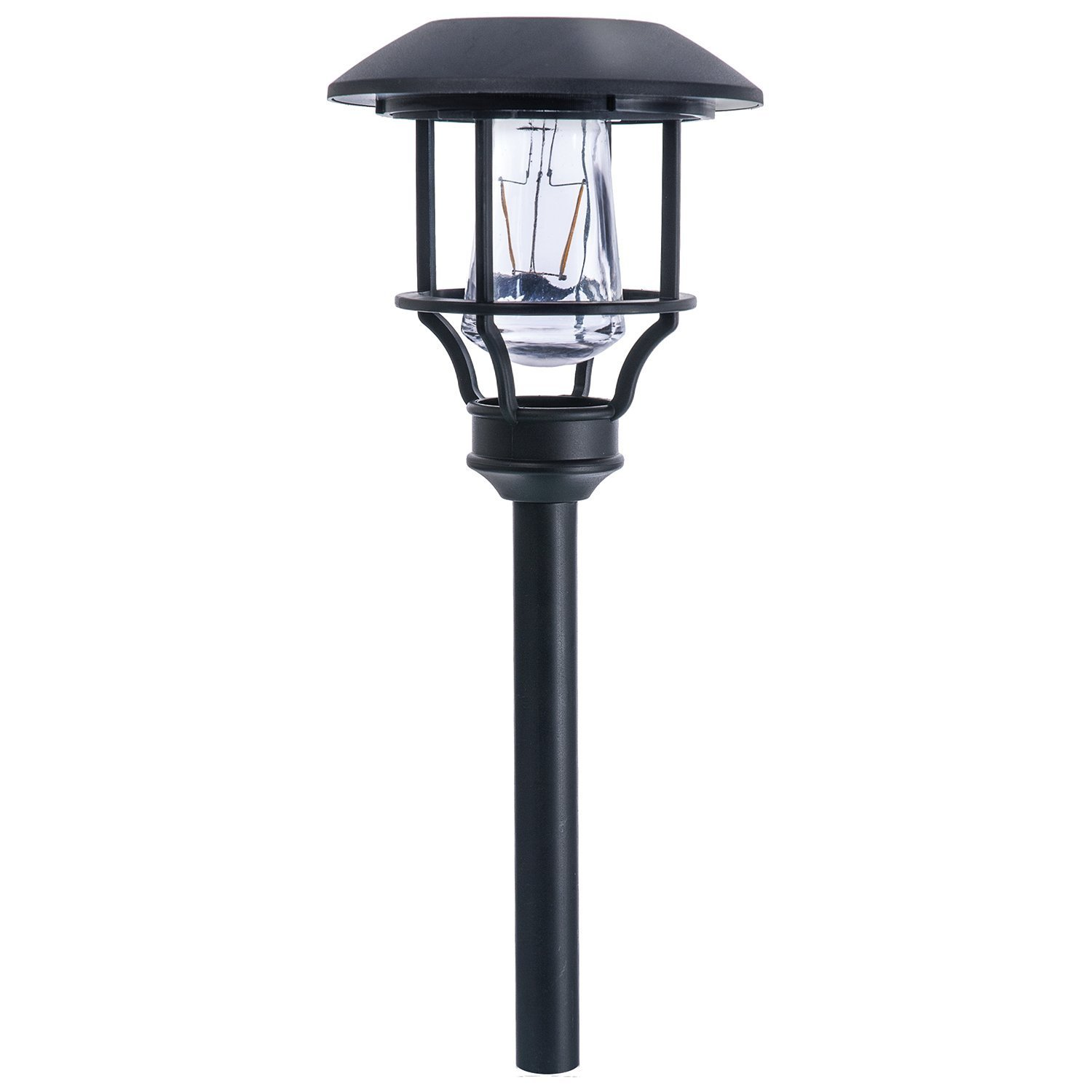 Paradise by Sterno Home Solar LED Path Light Kit, 10 Lumens, 4-Pack