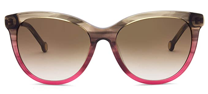 Carolina Herrera SHE750 GOLDEN (04AB) - Gafas de sol: Amazon ...