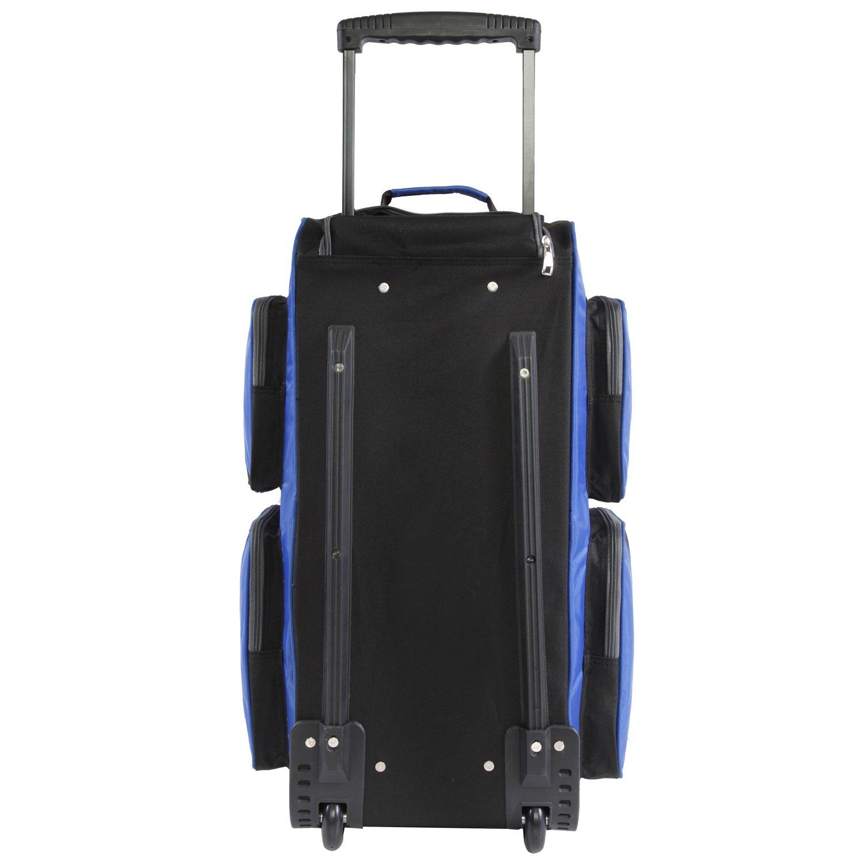 Fila 26'' Lightweight Rolling Duffel Bag, Blue, One Size by Fila (Image #2)