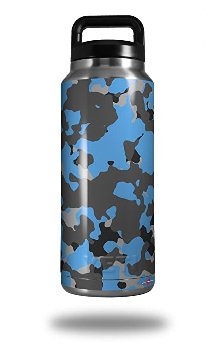 d3756364a35 Image Unavailable. Image not available for. Color: WraptorSkinz Skin Decal  Wrap for Yeti Rambler Bottle 36oz WraptorCamo Old School Camouflage ...