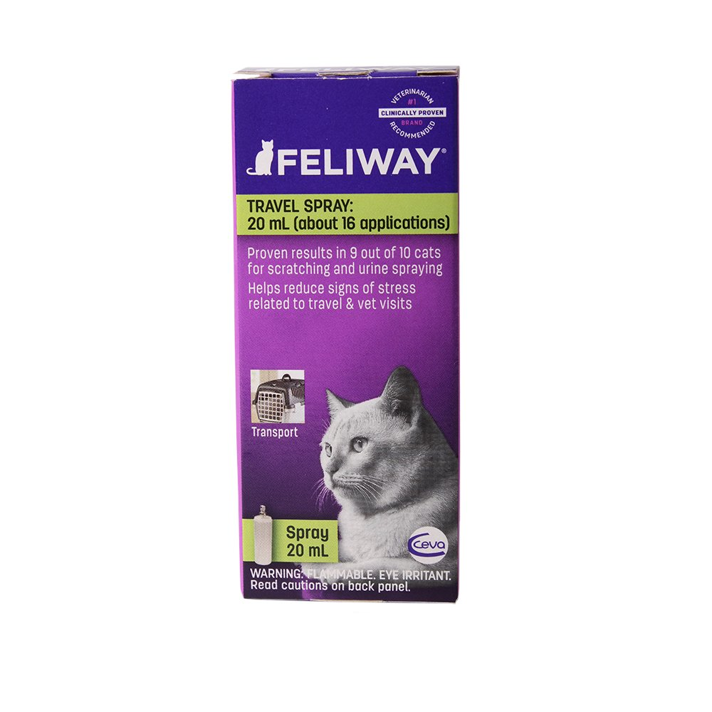 Ceva Feliway Pheromone Travel Spray for Cats