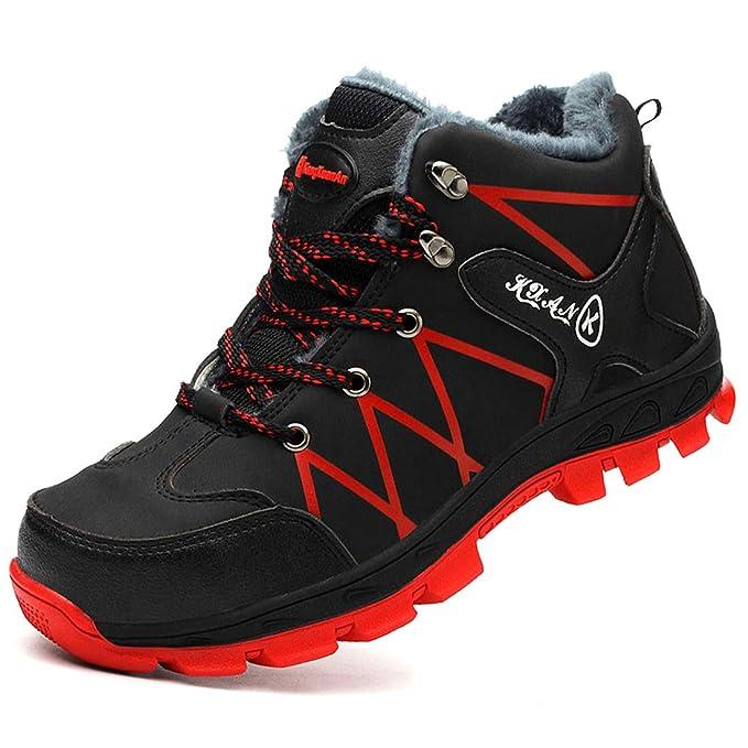 Dxyap Botas de Seguridad Invierno S1P Zapatillas de ...