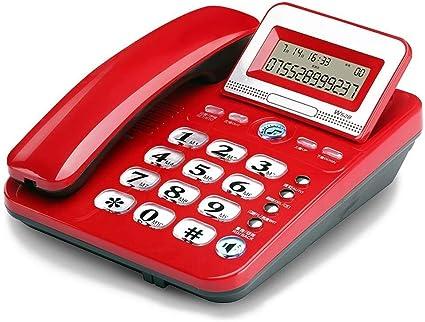 Teléfonos fijos 12 Manos del teclado Pantalla Libre ...