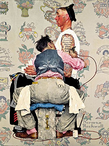 PAINTINGS PORTRAIT TATTOO PARLOUR SAILOR INK ARTIST USA ROCKWELL