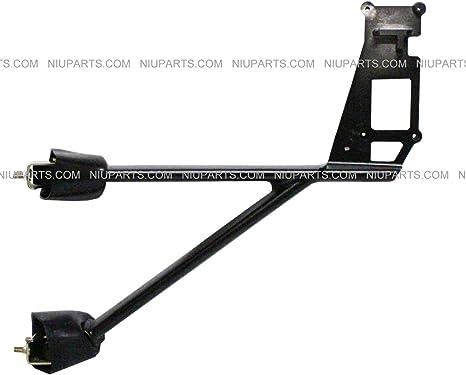 Driver Side Fit: Kenworth T660 T600 T370 T270 T170 T800 T470 T440 Truck Door Mirror Power Heated Chrome with Arm