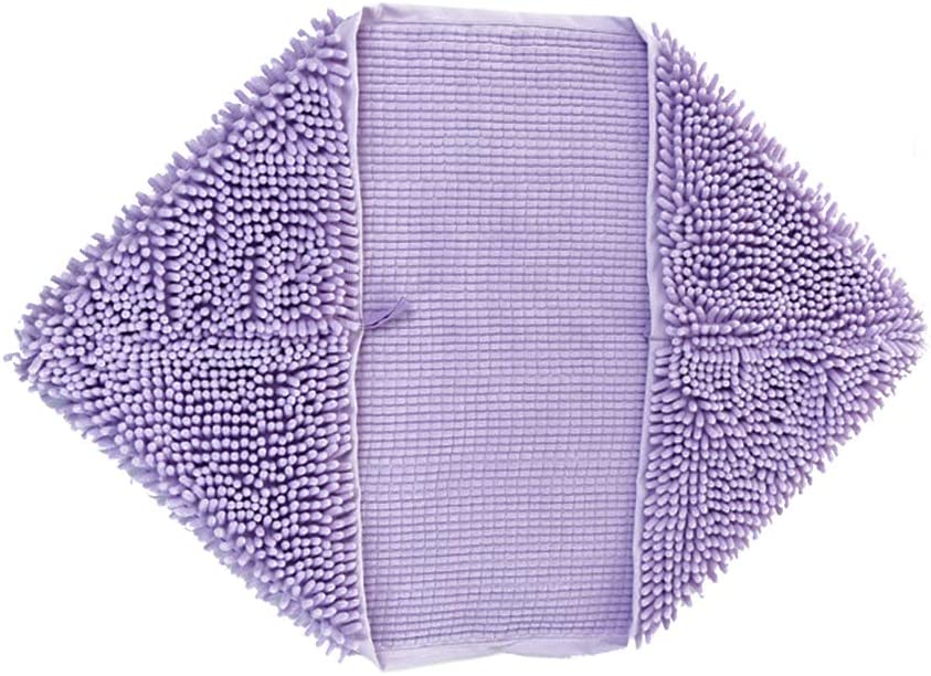 BLEVET Pet Bath Towel Super Absorbent Hand Pockets Grooming Drying Towel Cleaning Bathing Tool for Dog Puppy Cat MZ082 L:60x85cm, Grey