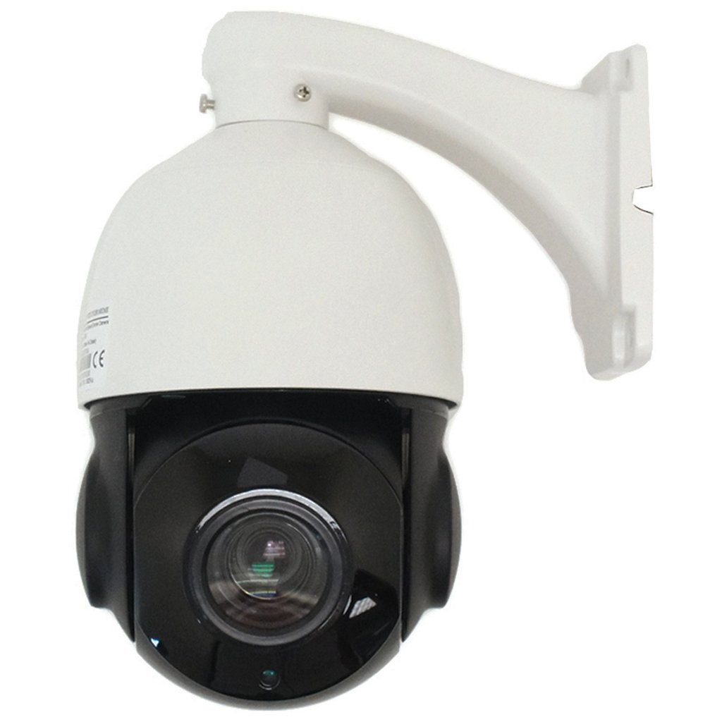 1080p TVI 18X PTZ Camera with 2MP Mini Outdoor Pan Tilt Zoom HD over Coax Camera with 197ft of Infrared Nightvision IR Sony Image Sensor