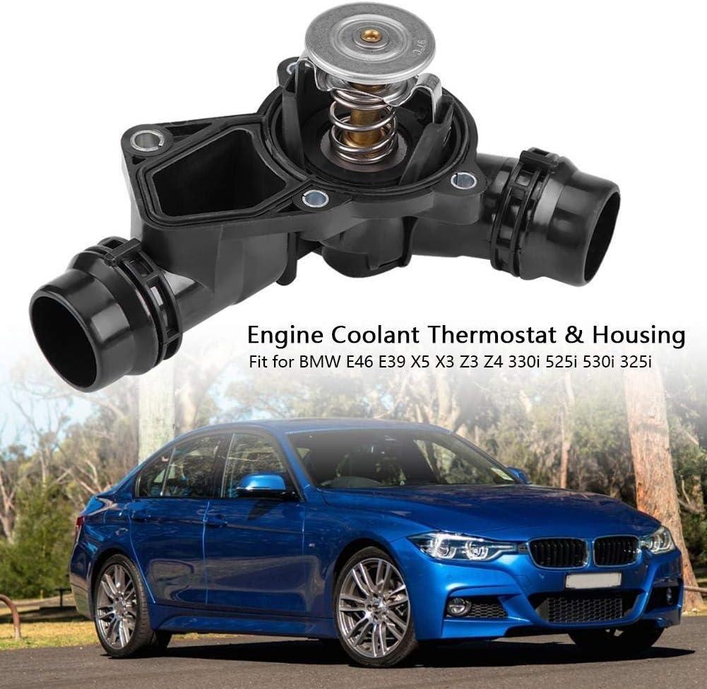 Broco Motork/ühlmittel-Thermostat /& Geh/äuse-Baugruppe 11531437040 for BMW E46 E39 X5 X3 Z3 Z4 330i 525i