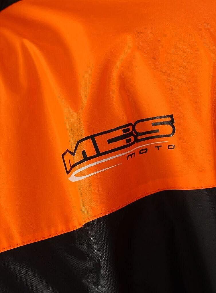 Einteiler MBSmoto MR31 Motorradschutzanzug wasserdichter Overall f/ür alle Wetterbedingungen