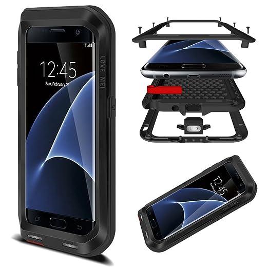 13 opinioni per HICASER Galaxy S7 Edge Custodia Impermeabile Waterproof, Antipolvere, Anti neve,