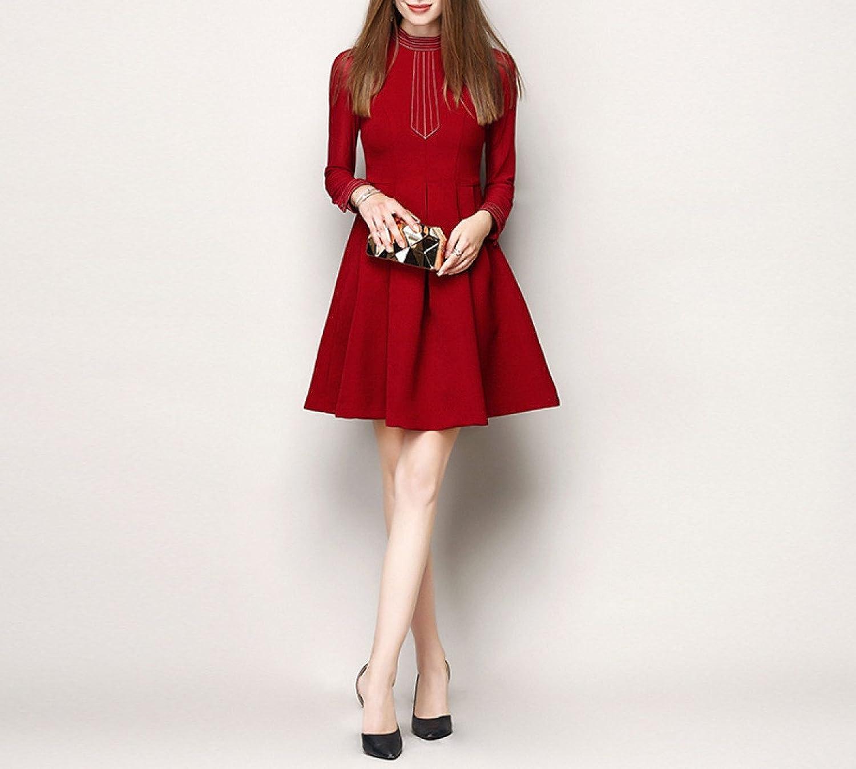 Lady, Chiffon, Lotus Leaf, Dress