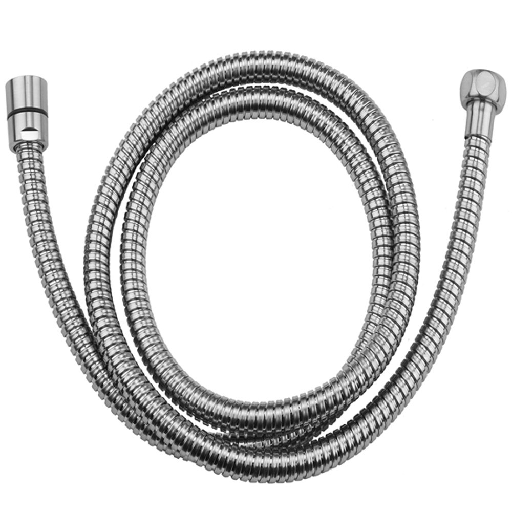 Jaclo 3071-PCH 71-Inch Double Spiral Brass Hose, Polished Chrome