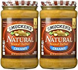 Smucker's Creamy Natural Peanut Butter - 26 oz