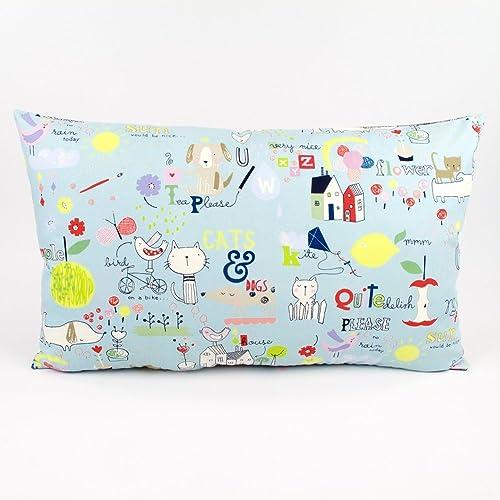 Amazon Kid Doodle Children's Whimsical Decorative Handmade Interesting Children's Decorative Pillows