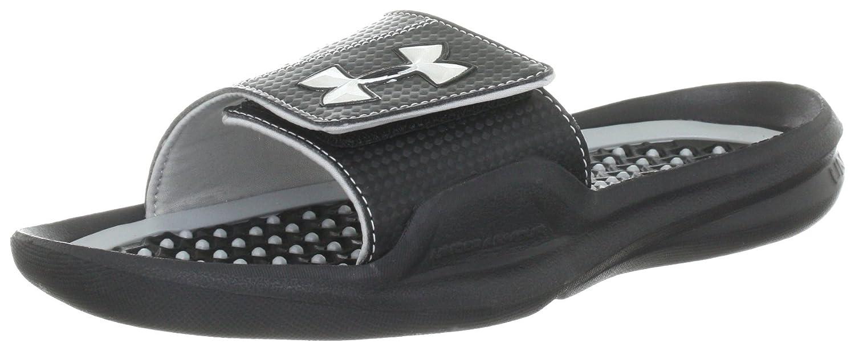 301077d801c Amazon.com   Under Armour Mens Playmaker II Slide/Sandal Black Size 15    Sandals