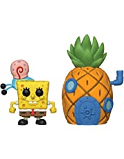 Funko- Pop Vinilo Squarepants S3: Spongebob w/Pineapple Figura Coleccionable, (39547)