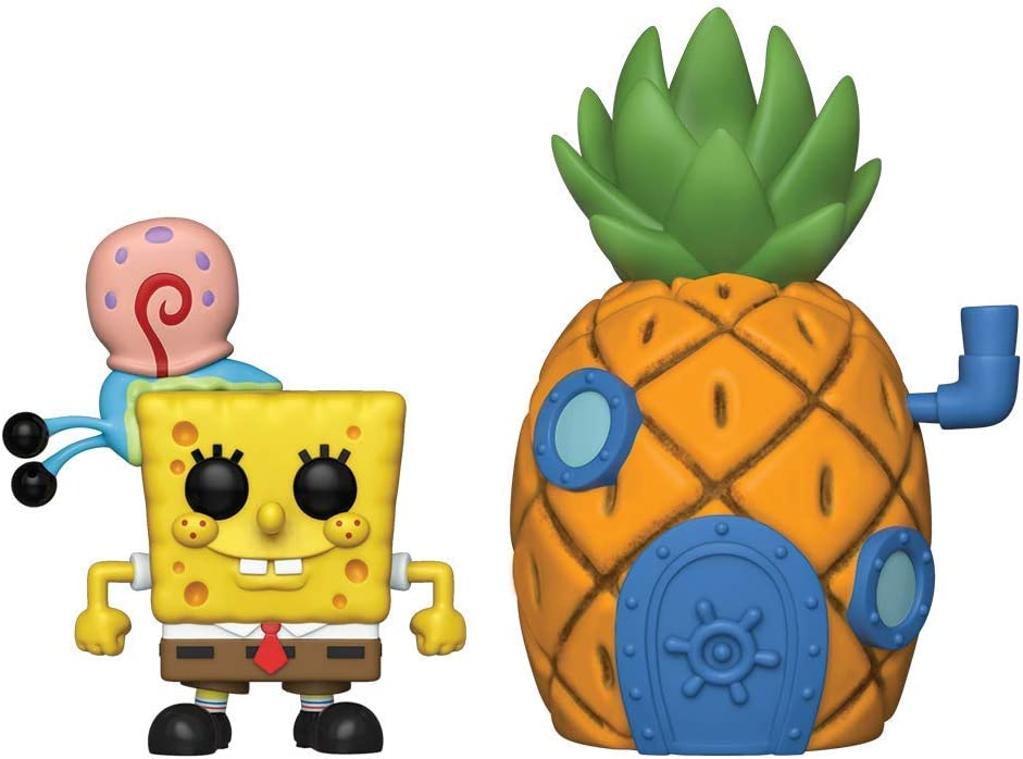 Funko Pop! Town: Spongebob Squarepants - Spongebob with Pineapple