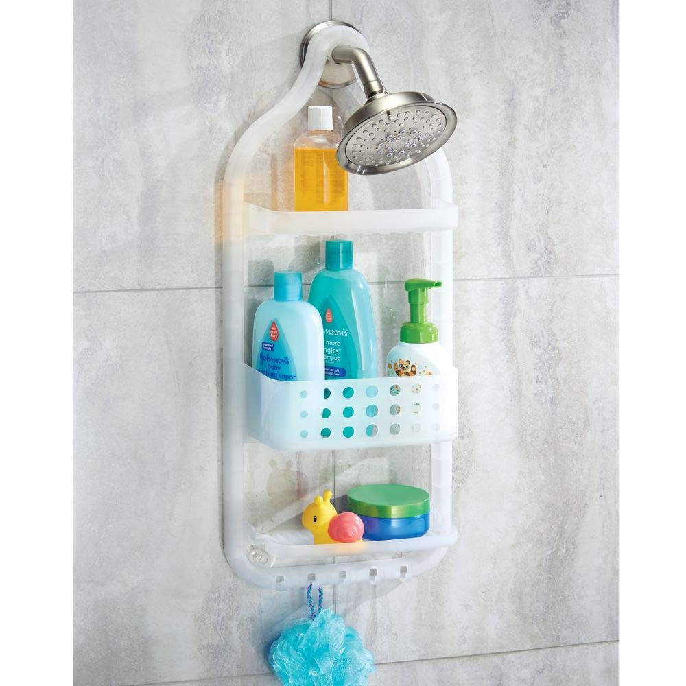 Amazon.com: InterDesign Circlz Hanging Shower Caddy – Bathroom ...