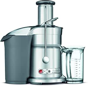Breville RM-800JEXL Die-Cast Juice Fountain Elite 1000-Watt Juice Extractor (Renewed)