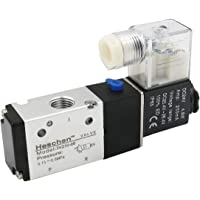 Heschen eléctrico neumática válvula solenoide 3V210-08 24VDC 4.8W