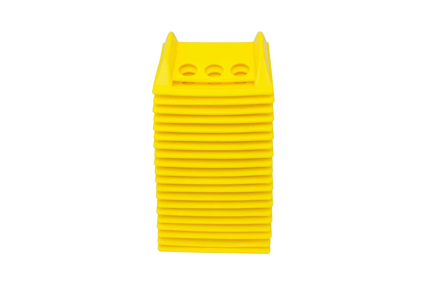 4 Plastic Corner Protectors 4 Winch Ratchet Straps Flatbed 20pk w//carrying case-Yellow