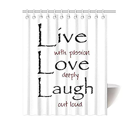 Amazon.com: Saying Live Laugh Love Quotes Art for Home ...