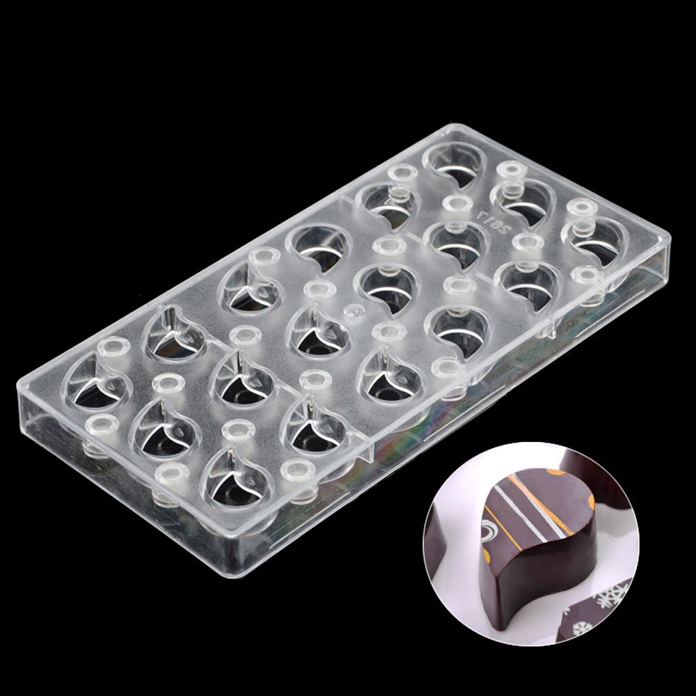 Grainrain Drip DIY Chocolate Transfer Sheet Custom Molds Magnetic Polycarbonate Mould by GRAINRAIN (Image #5)