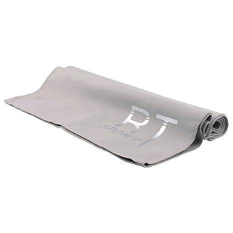Rotibox microfibra secado rápido toalla de deporte, toalla de viaje, antibacteriano sin olor,