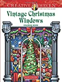 Creative Haven Vintage Christmas Windows Coloring Book (Adult Coloring)