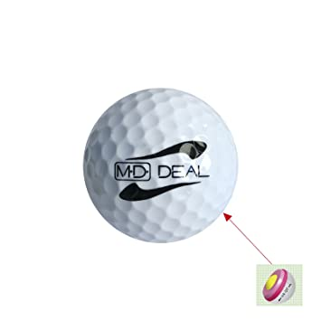 MD-DEAL 50 pieza 3 Layer & 4 Layer pelotas de golf pelota de golf ...